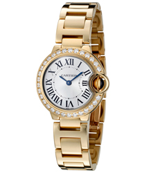 Cartier Ballon Bleu Ladies Watch Model WE9001Z3