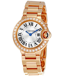 Cartier Ballon Bleu Ladies Watch Model WE9002Z3