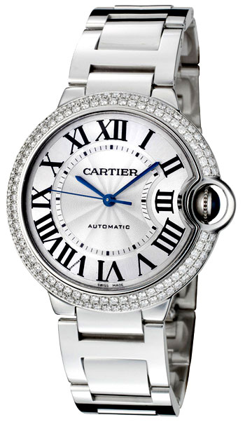 Cartier Ballon Bleu Medium Unisex Wristwatch Model: WE9006Z3