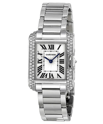 Cartier Tank Ladies Watch Model WT100008