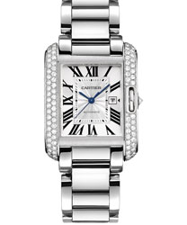 Cartier Tank Ladies Watch Model: WT100009