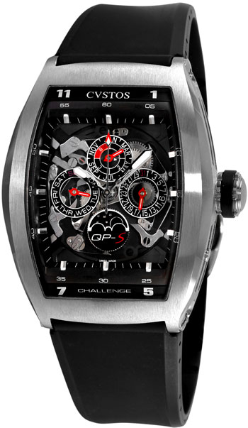 Cvstos Challenge Men's Watch Model CVQPTNSTGR