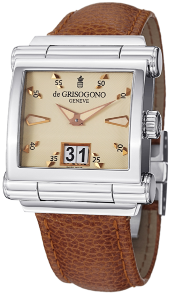 DeGrisogono Instrumento Men's Watch Model GRANDEN02