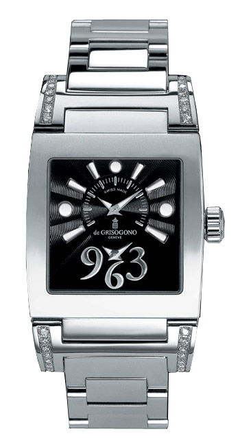 DeGrisogono Instrumentino Ladies Watch Model INSTRUMENTINOACNO1