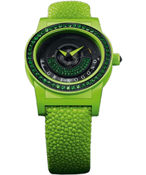 DeGrisogono Tondo by Night  Ladies Watch Model Tondo-by-Night-Green