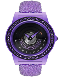 DeGrisogono Tondo by Night  Ladies Watch Model: Tondo-by-Night-Purple
