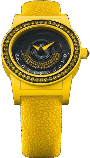 DeGrisogono Tondo by Night  Ladies Watch Model Tondo-by-Night-Yellow