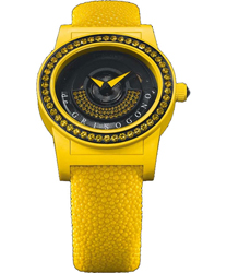 DeGrisogono Tondo by Night  Ladies Watch Model: Tondo-by-Night-Yellow