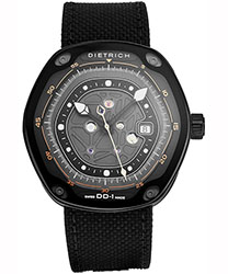 Dietrich Device Nr. 1 Men's Watch Model DD-1 BLACK