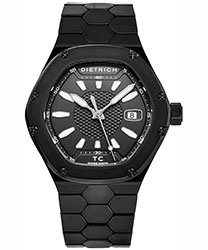 Dietrich Time Companion Men's Watch Model TC PVD BLACK