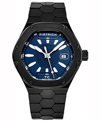 Dietrich Time Companion Men's Watch Model TC PVD BLUE