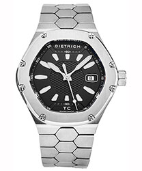Dietrich Time Companion Men's Watch Model TC SS BLACK