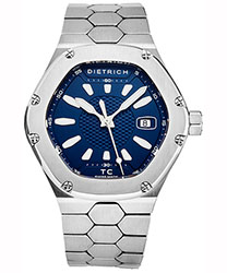 Dietrich Time Companion Men's Watch Model TC SS BLUE