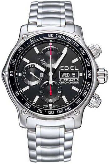Ebel 1911 Discovery Chronograph Mens Wristwatch Model: 9750L62.53B60