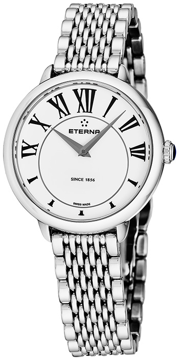 Eterna Quartz 34 mm Ladies Watch Model 2800.41.62.1743