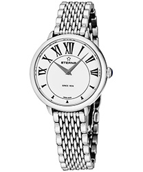 Eterna Quartz 34 mm Ladies Watch Model: 2800.41.62.1743