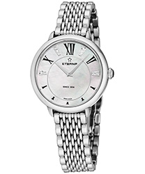 Eterna Quartz 34 mm Ladies Watch Model: 2800.41.66.1743
