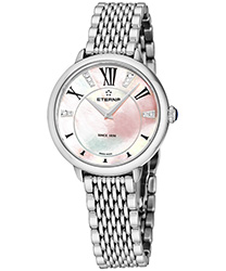 Eterna Quartz 34 mm Ladies Watch Model: 2800.41.76.1743