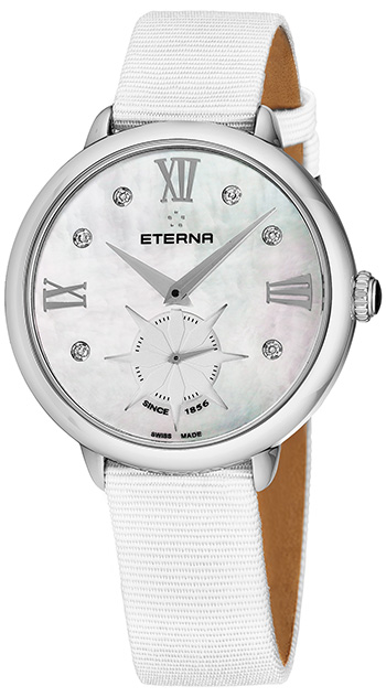 Eterna Small Seconds 34 mm Ladies Watch Model 2801.41.66.1406