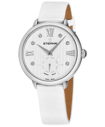 Eterna Small Seconds 34 mm Ladies Watch Model 2801.41.96.1406