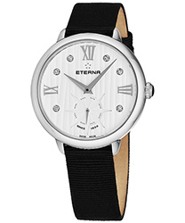 Eterna Small Seconds 34 mm Ladies Watch Model 2801.41.96.1408