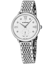 Eterna Small Seconds 34 mm Ladies Watch Model 2801.41.96.1743