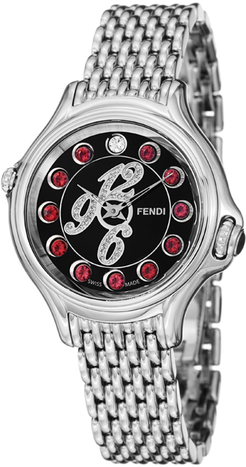 Fendi Crazy Carats Ladies Watch Model F105021000D1T05 Thumbnail 3