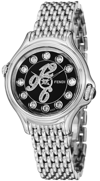 Fendi Crazy Carats Ladies Watch Model F105021000D1T05 Thumbnail 2