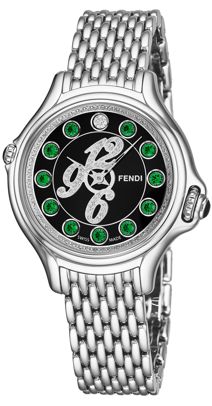 Fendi Crazy Carats Ladies Watch Model F105021000D3T03 Thumbnail 2