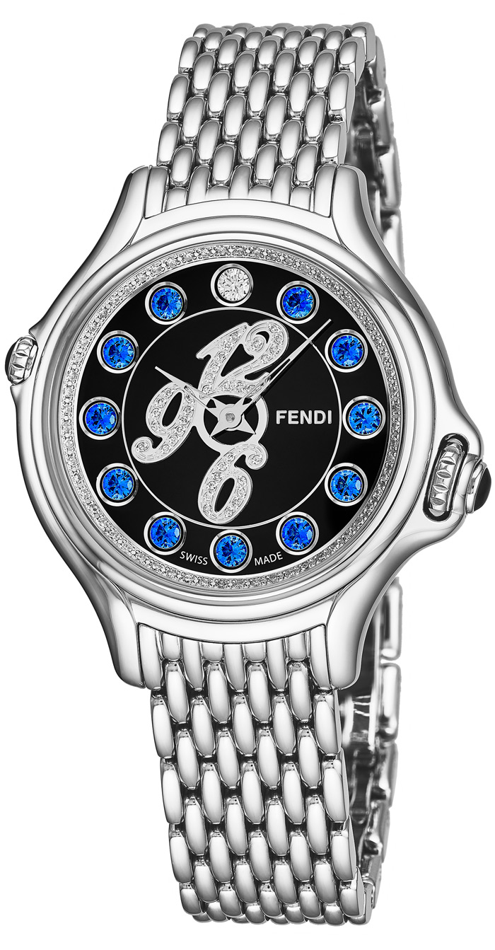 Fendi Crazy Carats Ladies Watch Model F105021000D3T03 Thumbnail 3