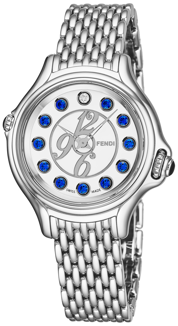 Fendi Crazy Carats Ladies Watch Model F105024000T03 Thumbnail 3