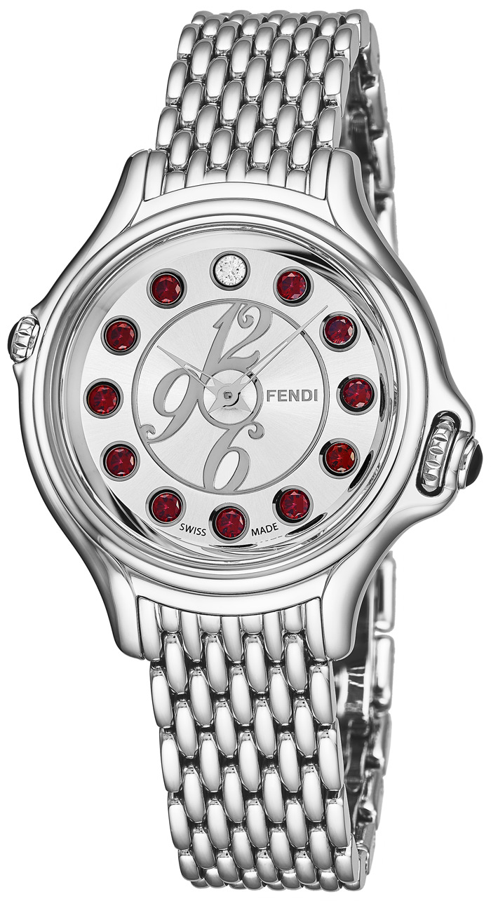 Fendi Crazy Carats Ladies Watch Model F105026000T01 Thumbnail 2