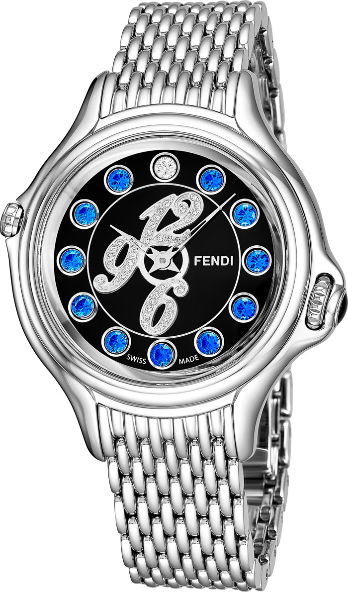 Fendi Crazy Carats Ladies Watch Model F105031000D1T03 Thumbnail 3