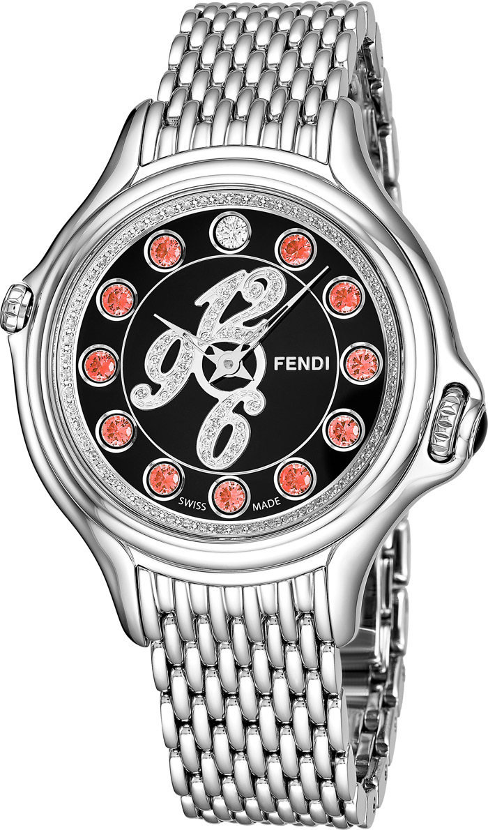Fendi Crazy Carats Ladies Watch Model F105031000D3T04 Thumbnail 2