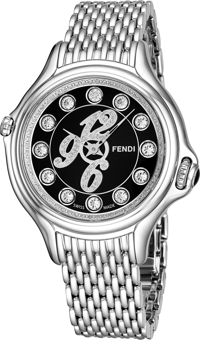 Fendi Crazy Carats Ladies Watch Model F105031000D3T04 Thumbnail 3