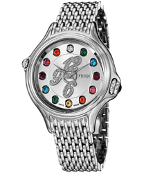 Fendi Crazy Carats Ladies Watch Model: F105036000D1T02