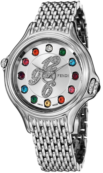 Fendi Crazy Carats Ladies Watch Model F105036000D1T05