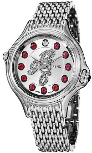 Fendi Crazy Carats Ladies Watch Model F105036000D1T05 Thumbnail 4