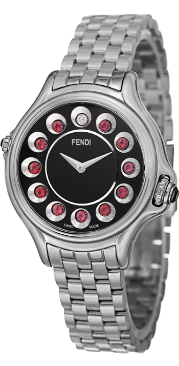 Fendi Crazy Carats Ladies Watch Model F107021000T05 Thumbnail 4