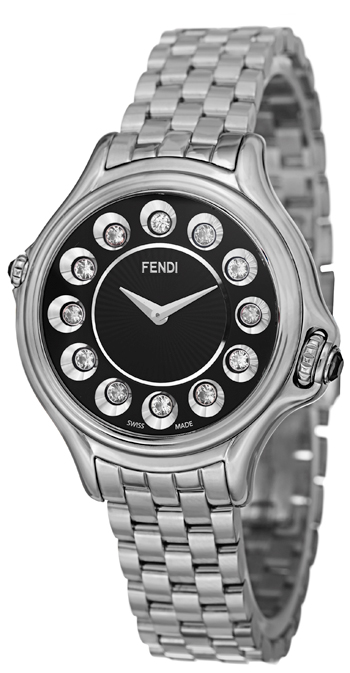 Fendi Crazy Carats Ladies Watch Model F107021000T05 Thumbnail 2