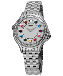 Fendi Crazy Carats Ladies Watch Model F107024000B0T02