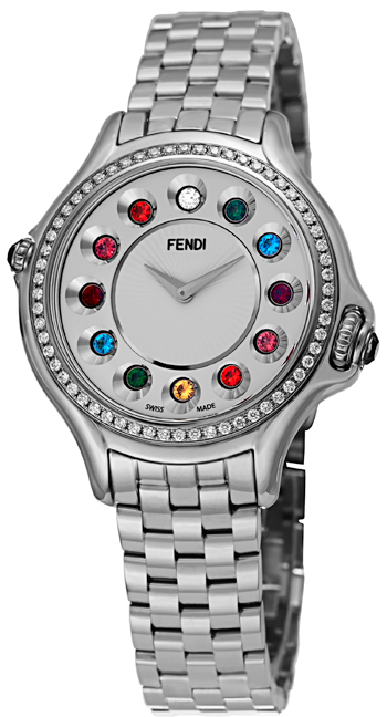 Fendi Crazy Carats Ladies Watch Model F107024000B0T05