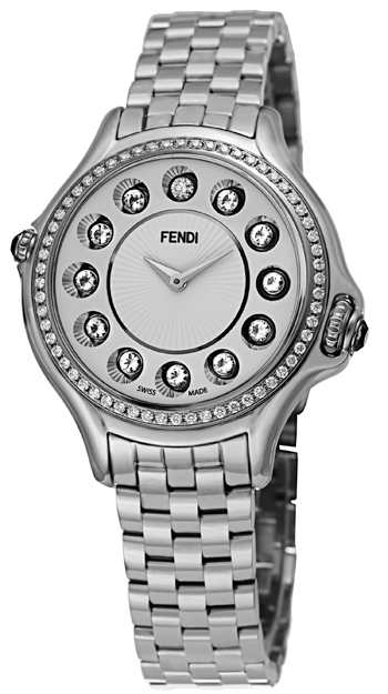 Fendi Crazy Carats Ladies Watch Model F107024000B0T05 Thumbnail 2