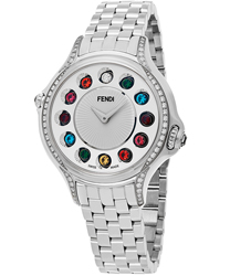 Fendi Crazy Carats Ladies Watch Model: F107024000C0T05
