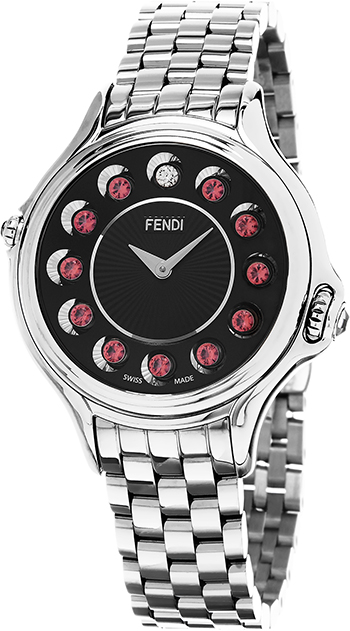 Fendi Crazy Carats Ladies Watch Model F107031000T05 Thumbnail 2