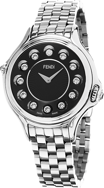 Fendi Crazy Carats Ladies Watch Model F107031000T05 Thumbnail 3