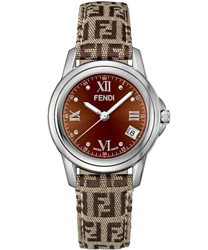 Fendi Loop Round Unisex Watch Model F238322