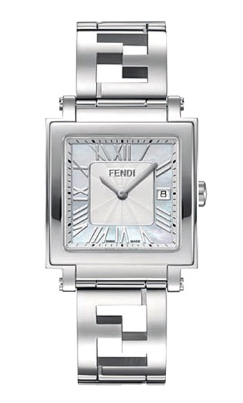Fendi Quadro Unisex Watch Model F605014000
