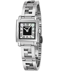 Fendi Quadro Ladies Watch Model F605021000