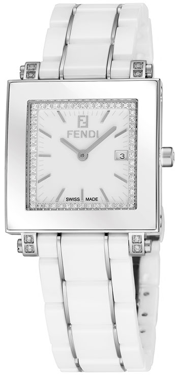 Fendi Quadro Ladies Watch Model F622140DDC